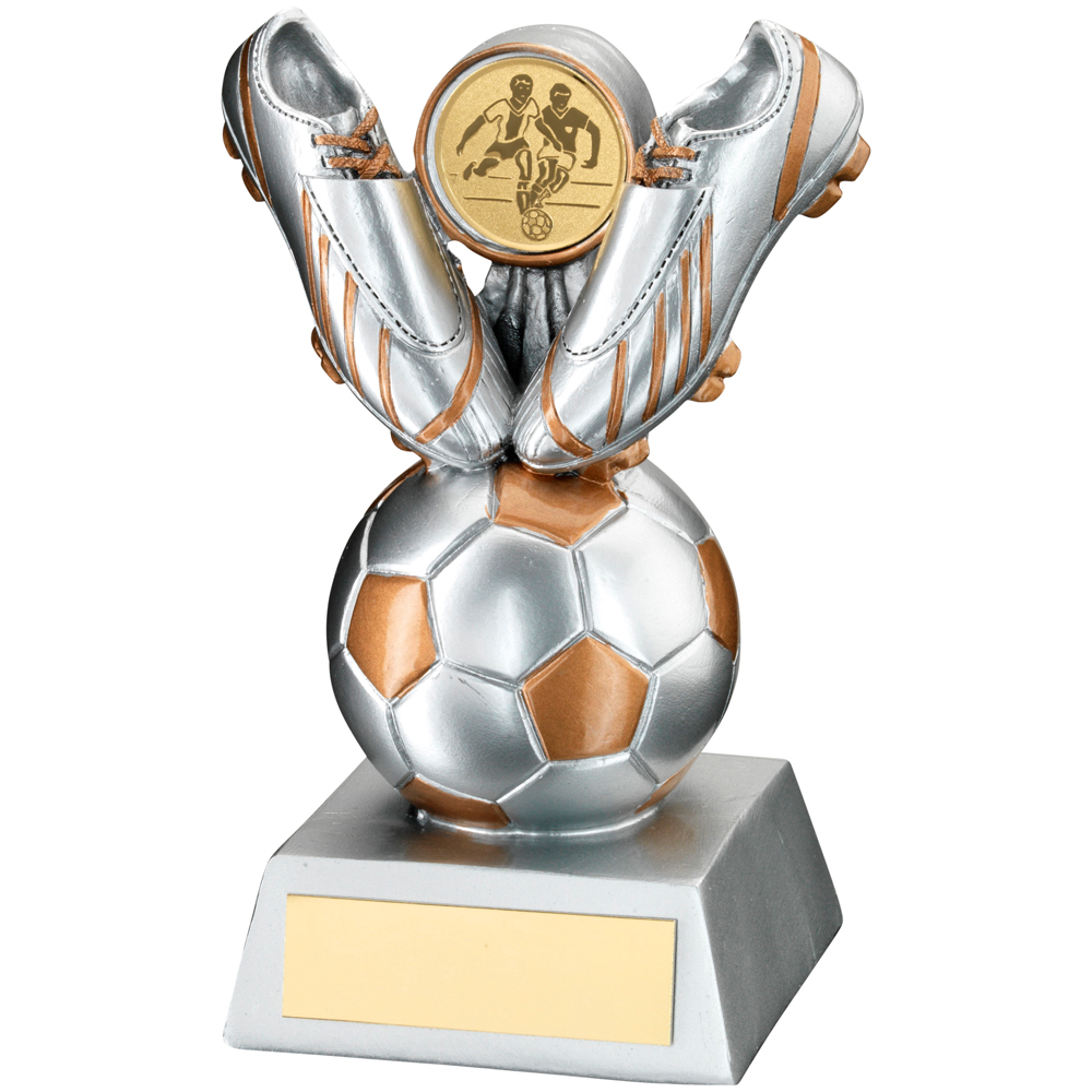 5 Quot Silver And Gold Football Award Trophy Boss