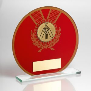 Red Cricket Glass Award