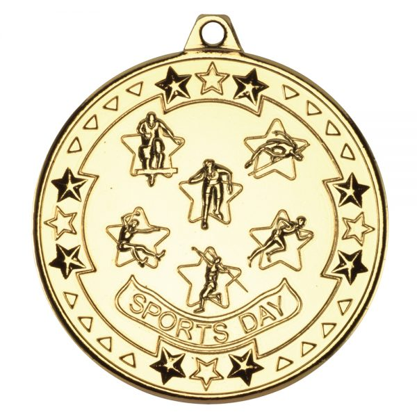 Gold Sports Day Medal