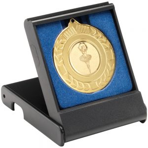 Black Plastic Medal Box