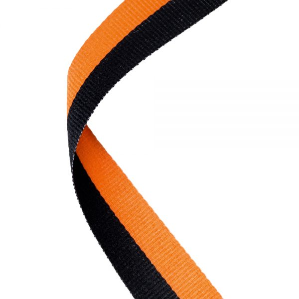 Black/orange medal ribbon