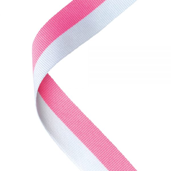 Pink/White Medal Ribbon