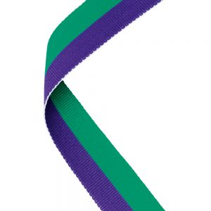 Purple/Green Medal Ribbon