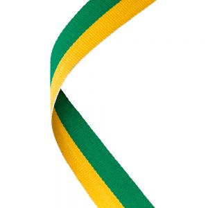 Green and Yellow Ribbon