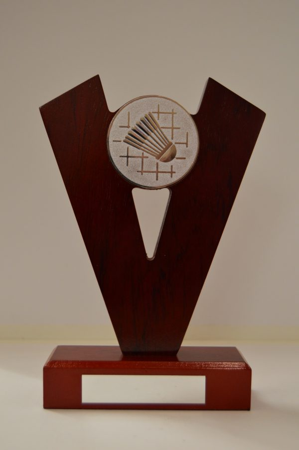 Badminton Wooden Award