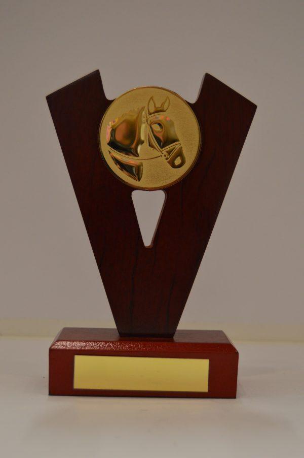 Equestrian Wooden Award