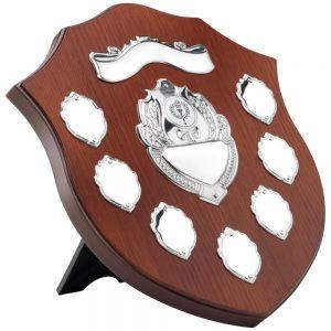 9 Inch Wooden Shield