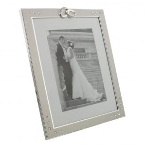 Aluminium Embellished 5 inch x 7 inch Wedding Photo Frame