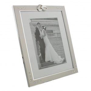 Aluminium Embellished 5 inch x 7 inch Wedding Photo Frame