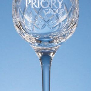 Glass Lead Crystal Blenheim Wine Goblet