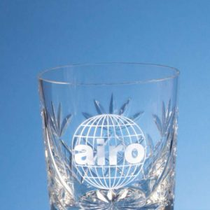 Glass Lead Crystal Blenheim Whisky Tumbler