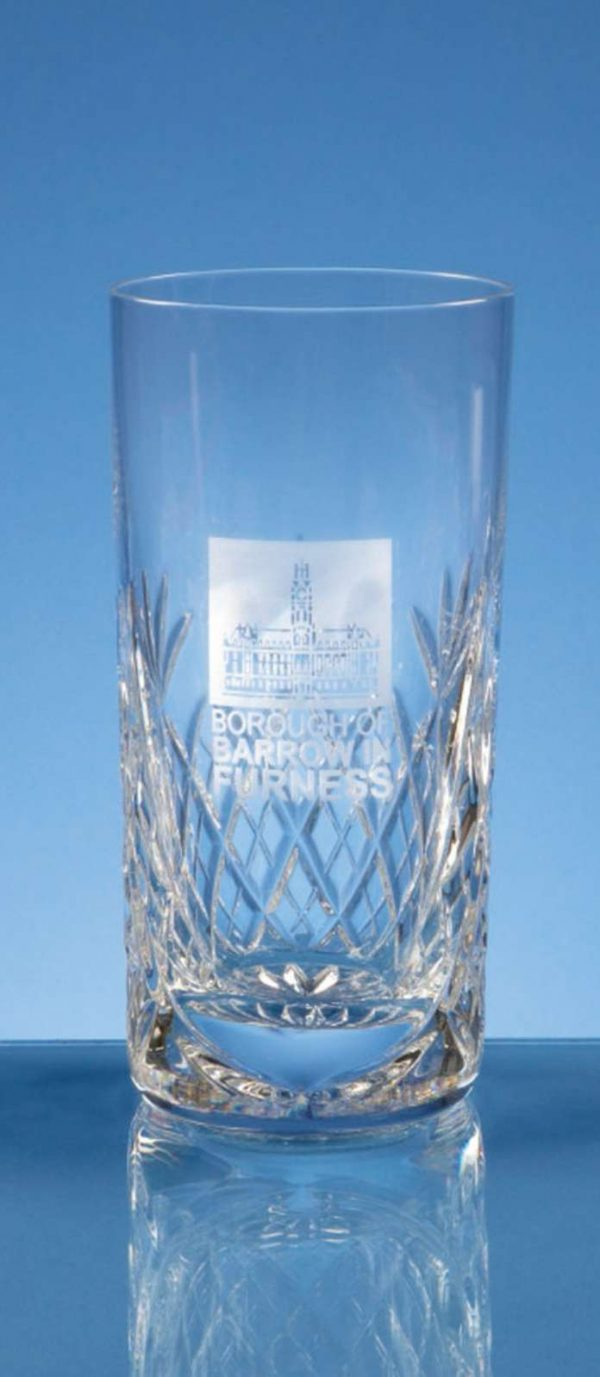Glass Lead Crystal Blenheim Hi Ball Glass