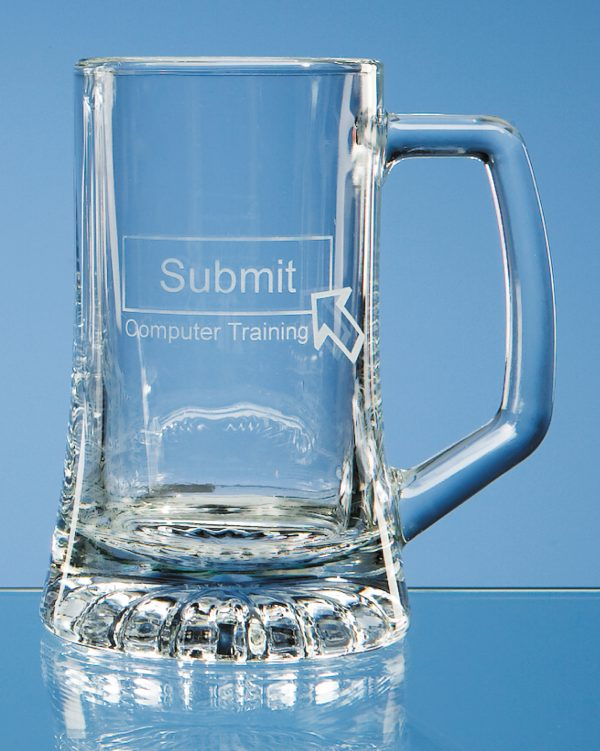 Glass .26 Litre Small Stern Tankard