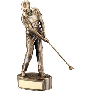 Resin Male Golf Award