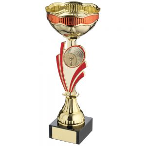 Trophy Cup Gold/Red