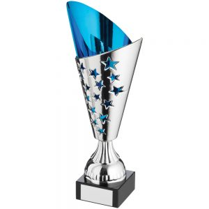 Blue and Silver Trophy
