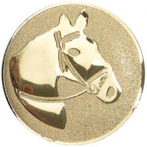 25mm Metal Equestrian Horses Head Centre