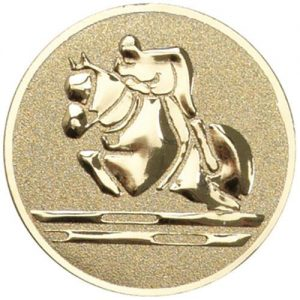 25 mm Metal Equestrian Centre ((Showjumping)