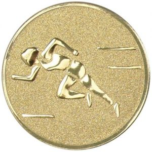 25 mm Metal Athletics Centre (Sprinter)