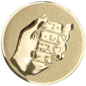 25 mm Metal Dominoes Centre