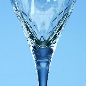 Glass Crystalite Mayfair Wine Goblet