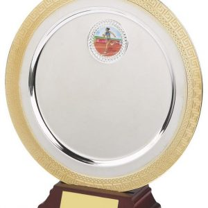 Silver and Gold Salver
