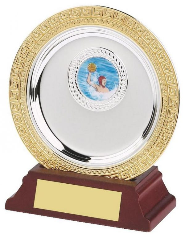 4 Inch Gold/Silver Plated Salver