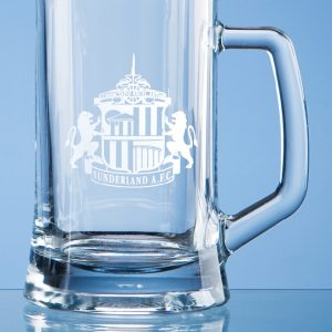 Glass Straight Sided .395 Litre Small Tankard