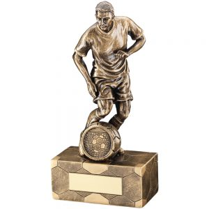 Resin Male Footballer
