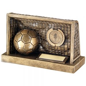 Football in Goal Resin Award