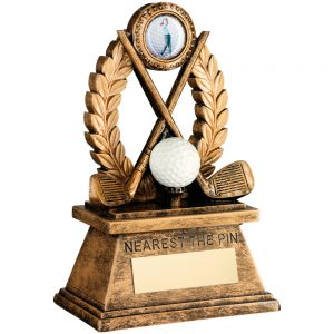 Nearest The Pin Golf Resin Award