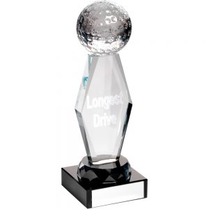Longest Drive Golf Glass Award
