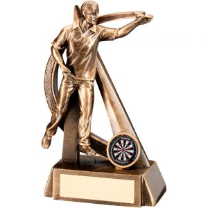 Darts Player Resin Award