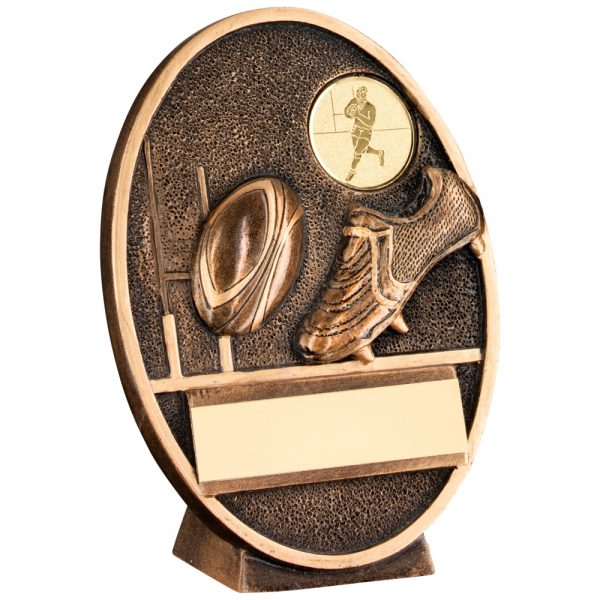 Rugby ResinPlaque Award