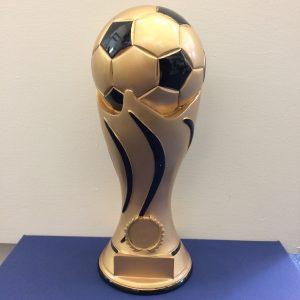 Gold Black Football Award