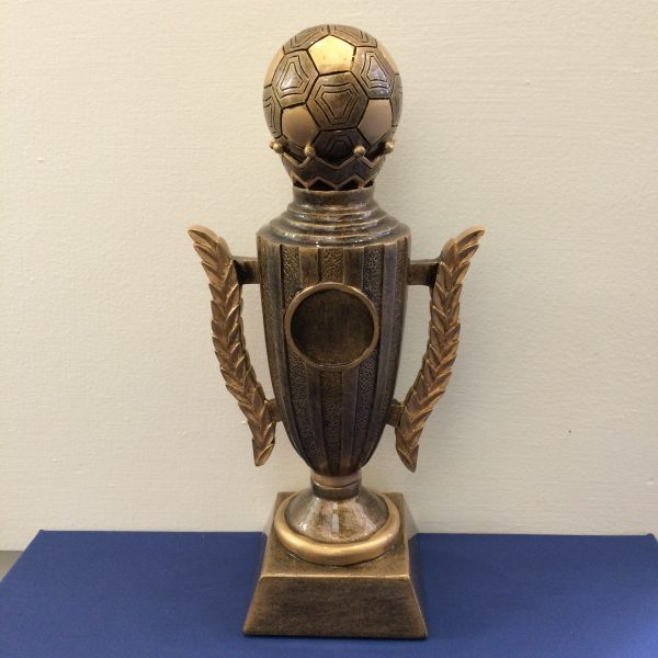 Football and Trophy Resin award