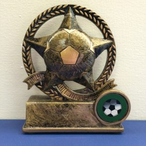 Football Star Resin award