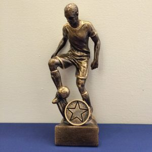 Male Resin Footballer