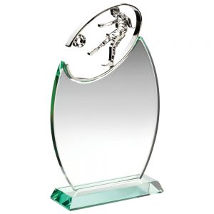 Football glass award