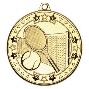 Gold Tennis Medal