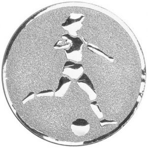 25mm Female Football Centre Silver