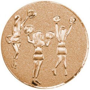 25mm Cheerleaders centre Bronze