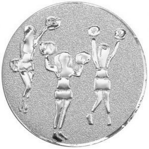 25mm Cheerleaders Centre Silver