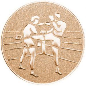 25mm Kickboxing Centre Bronze