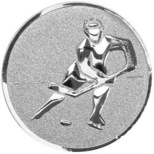 25mm Silver Metal Ice Hockey Centre
