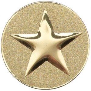 50mm Metal Star Centre Gold