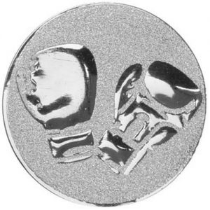 Silver Boxing Gloves metal