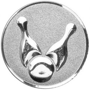 25mm Skittles Centre Silver