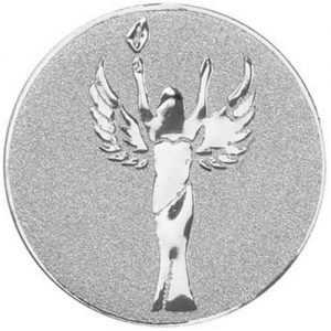 25mm Victory Angel Centre Silver