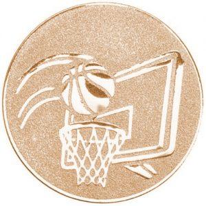 25mm Basketball Centre Bronze